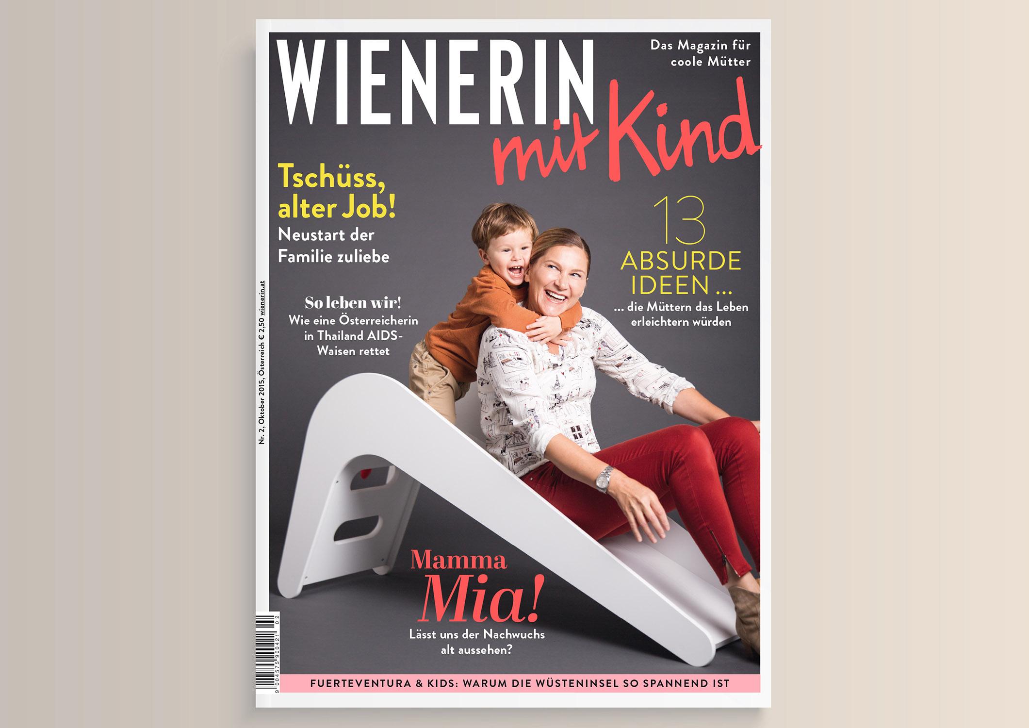Wienerin mit Kind Magazine